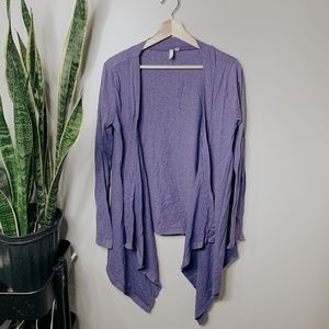 • ANTHROPOLOGIE X FRENCHI • purple cardigan
